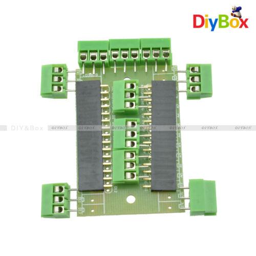 NANO V3.0 CH340G Welded 5V MicroContoller Arduino Bootloader CHIP+Breakoutboard