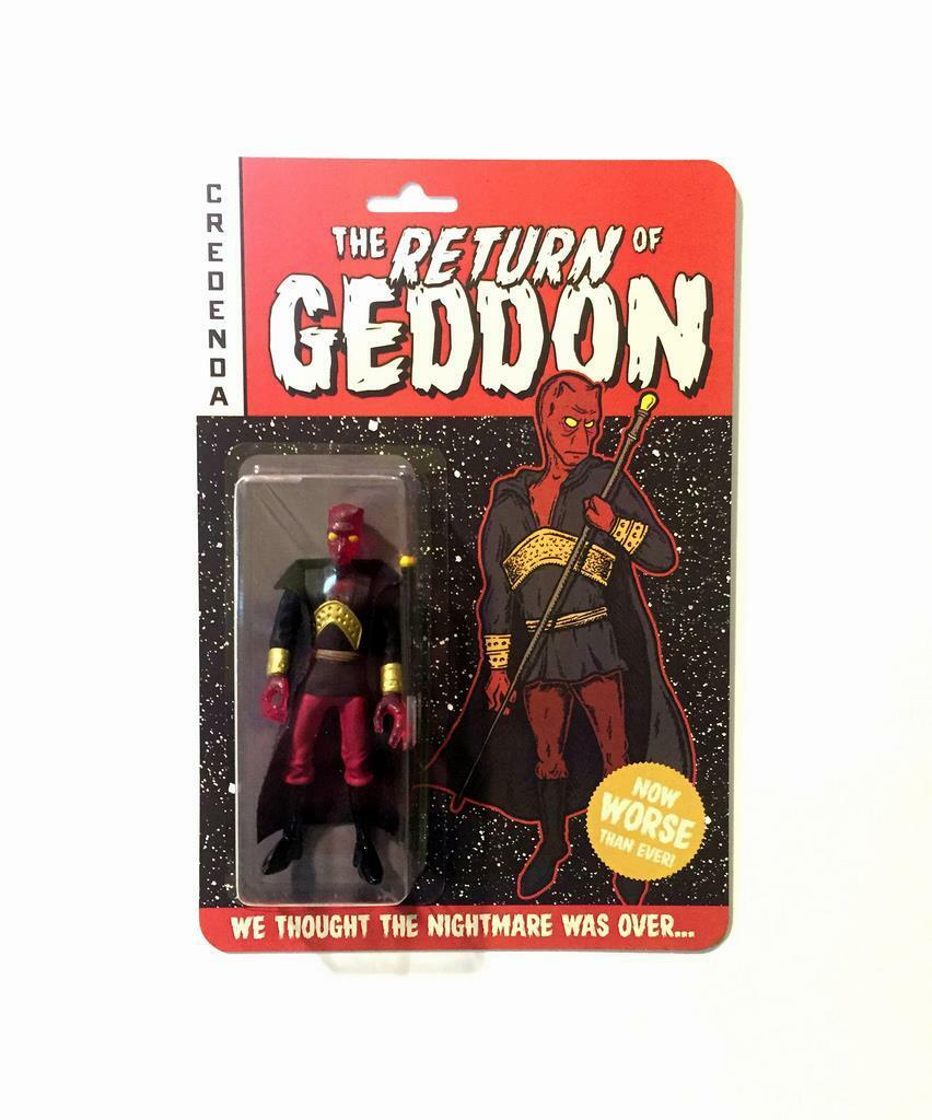 GENERAL GEDDON RESIN ART FIGURE BY CREDENDA STUDIOS DCON 2016 DESIGNER CON