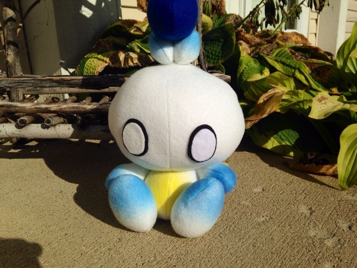 NEW Handmade Sonic Adventure Soft, Original Hero Chao Plush