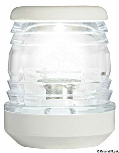 Osculati  Classic 360 Degrees White Polycarbonate Masthead LED Light 12//24V 1.7W