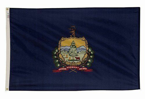 5X8 5X8 5X8 Poly Vermont State Flag 5X8 Vermont State Banner 5X8 VT State Flag US Made 1abbdd