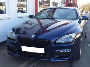 BMW F06 F12 F13 6 Series Kidney Grill Grille Grills Matt Black M Style