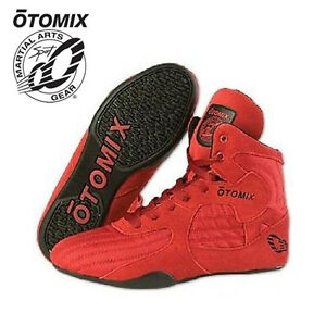 42a49160aeec Details about Otomix Stingray High Top Bodybuilding Gym MMA Wrestling  Boxing Shoes Mens Womens