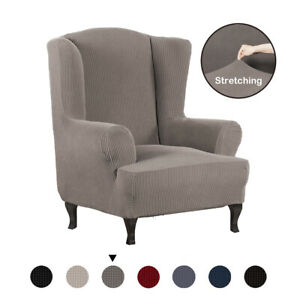 All-inclusive-Thick-Stretch-Wing-Chair-Cover-Slipcover-Wingback-Armchair-Cover