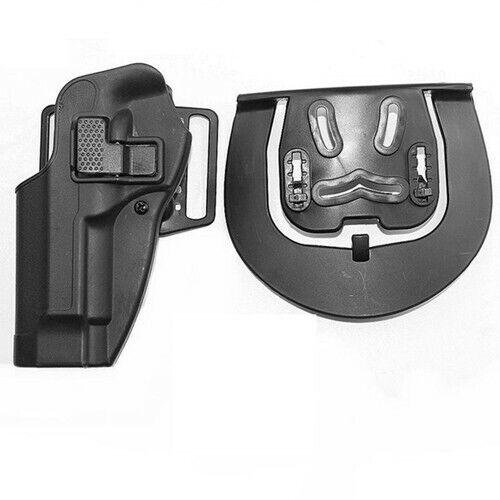 Tactical Quick Release Left Handed Shooter Belt Holster For 1911 M92 G17 P226