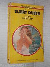 LO ZIO BUONANIMA Ellery Queen Mondadori I classici del giallo 419 1983 romanzo