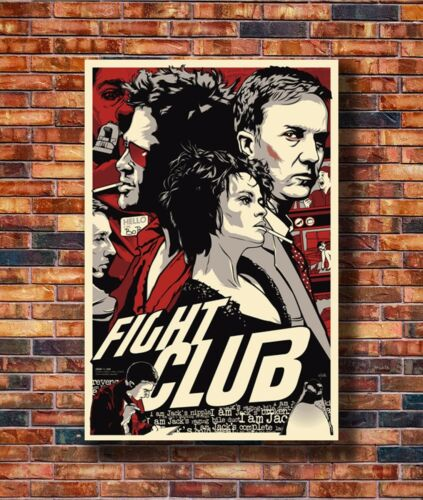 New Fight-Club/_poster/_goldposter/_com Poster 14x21 24x36 Art Gift X-903