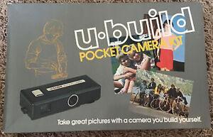 U-build Pocket Camera Kit(toy)New In Box