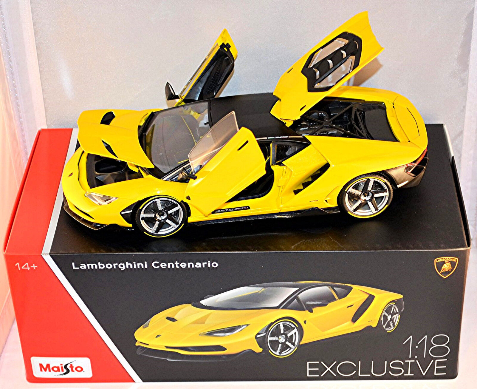 Lamborghini Centenario LP 770-4 Coupe 2016 Exclusiv Serie yellow yellow 1 18 Maist