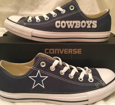 NEW! Dallas Cowboys Custom Made Converse Chuck Taylor Sneakers NFL | eBay