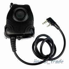 Waterproof Z-Tactical Headset PTT Cable for Kenwood Puxing Wouxun Baofeng Radio