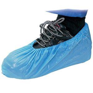 50 alta resistencia Sobrecalzado Plástico Protector Zapato Fundas Alfombra Suelo