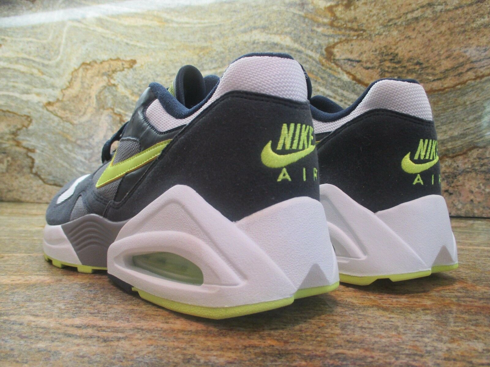 2008 Unreleased Unreleased Unreleased Nike Air Max Tailwind 92 OG Sample SZ 9 White Volt 336611-471 57b5d8