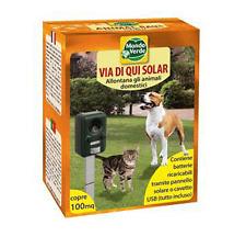Allontana disabituante ad ultrasuoni cani gatti  per ambiente esterno ed interno
