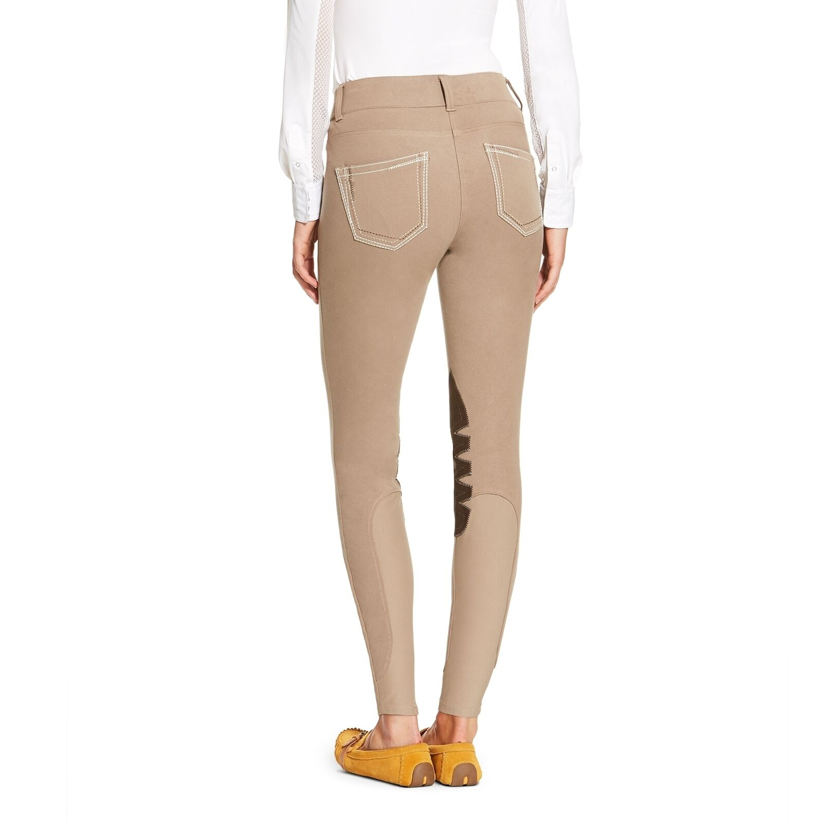 Ariat Ladies Fashion Low Rise Breech with Knee Patch