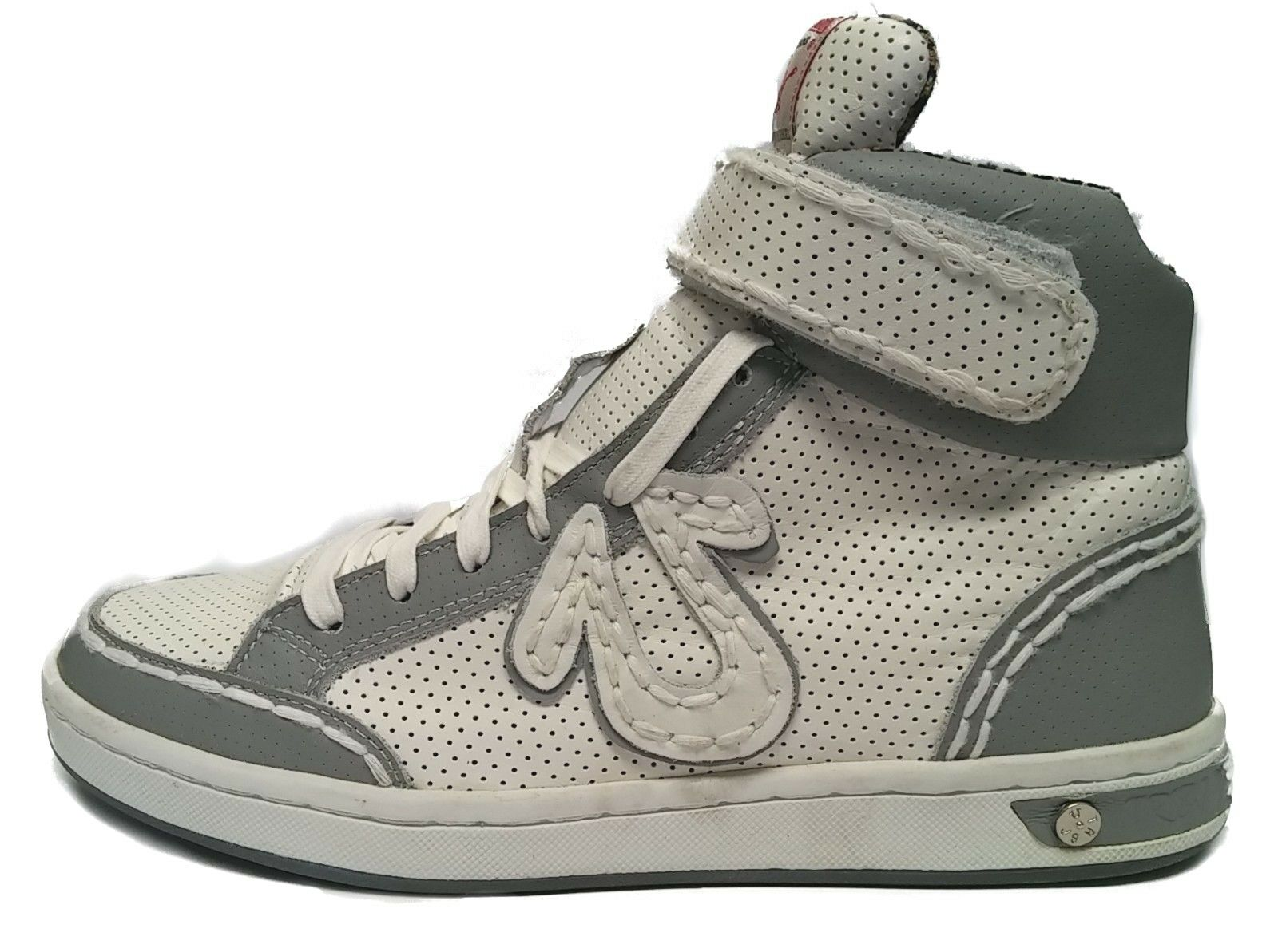 TRUE RELIGION TR142103-03W TR142103-03W RELIGION CARSON PERF Mn's (M) White/Grey Pelle Casual Shoes 6fd546