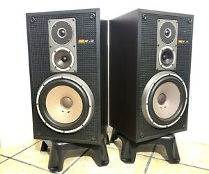 SONY-SS-G1-3-Way-SPEAKERS-Vintage-1978-65-Watts-RMS-100-Working-Refurbished