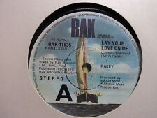 "Racey ""Lay Your Love On Me"" Top 10 Hit Oz 7"""
