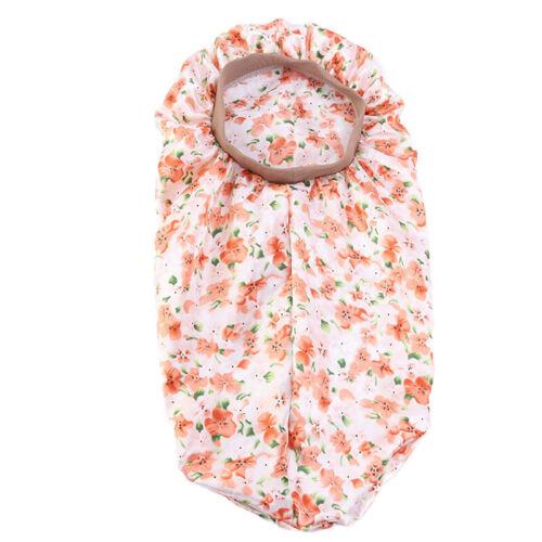 1PC Silky Long Satin Bonnet Sleep Cap High Elastic Hair Band Nightcap Chemo Caps