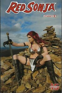Vault 35 Red Sonja the Superpowers #1 Cover E NM 2021 Dynamite