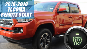 fits 2016 2018 toyota tacoma remote start plug and play carimage is loading fits 2016 2018 toyota tacoma remote start plug
