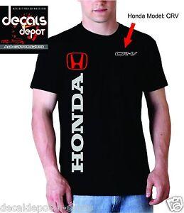 Custom-T-Shirt-for-HONDA-Car-or-Truck-Owners-Accord-Civic-Element-CR-V-Etc