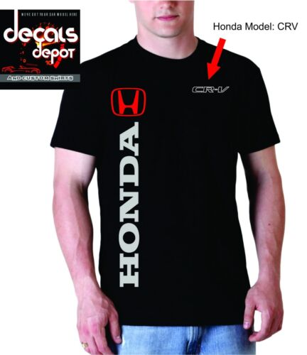 Custom T-Shirt for HONDA Car or Truck Owners Accord CR-V  /&more Civic Element