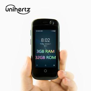 Unihertz Jelly Pro 3GB+32GB, Super Mini 4G Unlocked Mobile Smart Phone JPRO-11