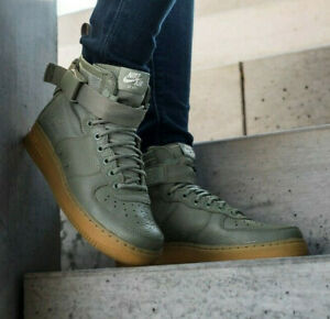 Details about NIKE WOMEN'S SF AIR FORCE 1 MID SPECIAL FIELD BOOTS LADIES GIRLS UK 5.5 US 8