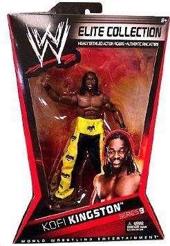 WWE Kofi Kingston Elite Series 9 Mattel Wrestling Figure New Sealed
