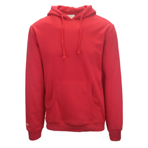 Mitchell-amp-Ness-Men-039-s-Red-Pull-Over-Hoodie-S02