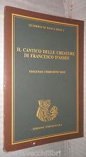 IL CANTICO DELLE CREATURE DI FRANCESCO D ASSISI Vincenzo Cherubino Bigi Pace di