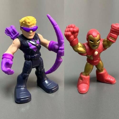 IRON MAN /& HAWK Eye Marvel Universe Legend Super Hero 2.5/'/' figure Toy Playskool