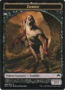 x4 zombie warrior 011 token