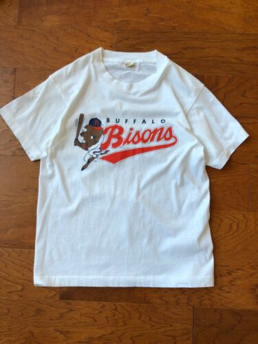 Vintage Buffalo Bisons 70s 80s T Shirt Screen Star