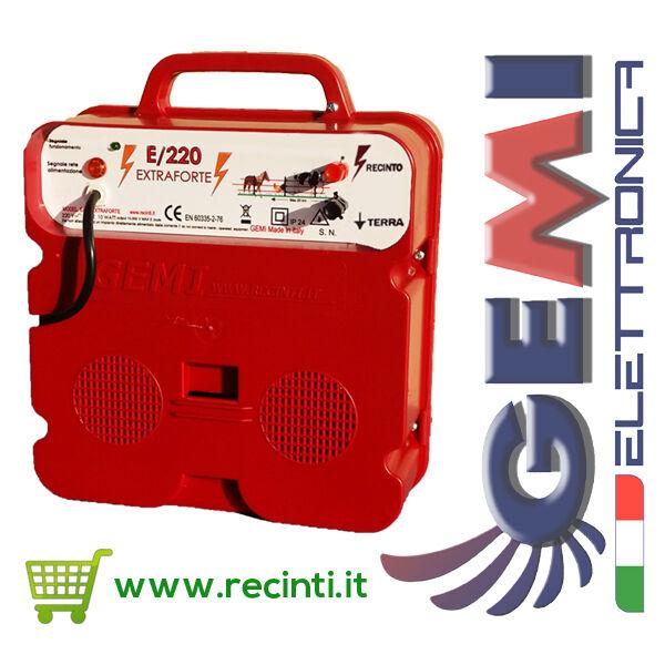 RECINTO ELETTRICO ELETTRIFICATORE E 220 EXTRAFORTE ANTICINGHIALE