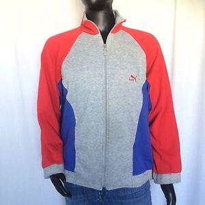 fed9f6b15879 Puma Mens Full Zip Jacket Size L Athletic Training Jacket Sweater ...