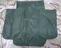 BRITISH ARMY ISSUE INSERTION BAGS x3 rucksack, backpack, pack, bergen, camping,