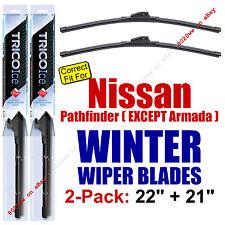 WINTER Wiper Blades 2pk - fit 2004 Nissan Pathfinder (Except Armada) - 35220/210