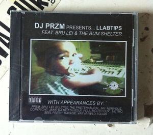 Dj przm llabtips feat. Brulei & bum shelter cd new sealed