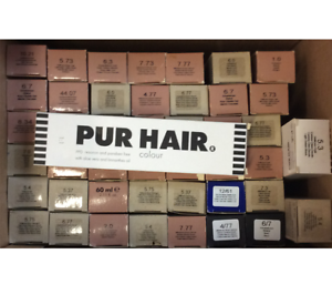 Pur-Hair-Haarfarben-verschiedene-Sorten-45-stk-Restposten-Neu-amp-OVP