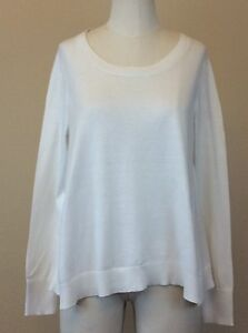 VICTORIA-039-S-SECRET-Women-039-s-Ivory-Cashmere-Blend-Sweater-Size-SMALL