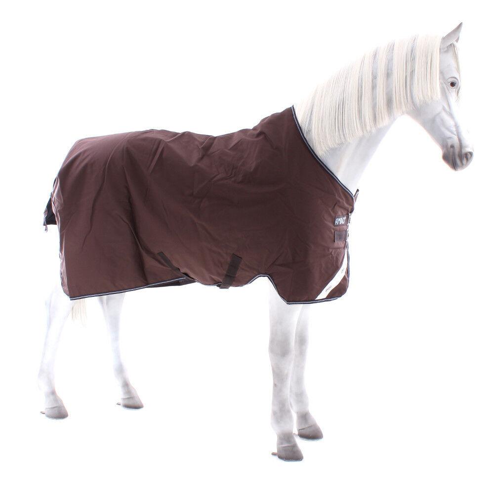 Horseware Amigo Bravo 12 Super Turnout Lite 150g 150g Lite - Choc/Blau b9f81c