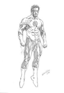 DC-Comics-GREEN-LANTERN-Original-Art-Hal-Jordan-GUARDIANS-BATMAN-JUSTICE-LEAGUE