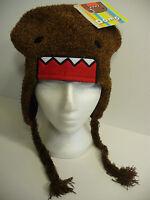 Domo Kun Face Fuzzy Pilot Laplander Hat Licensed Brand