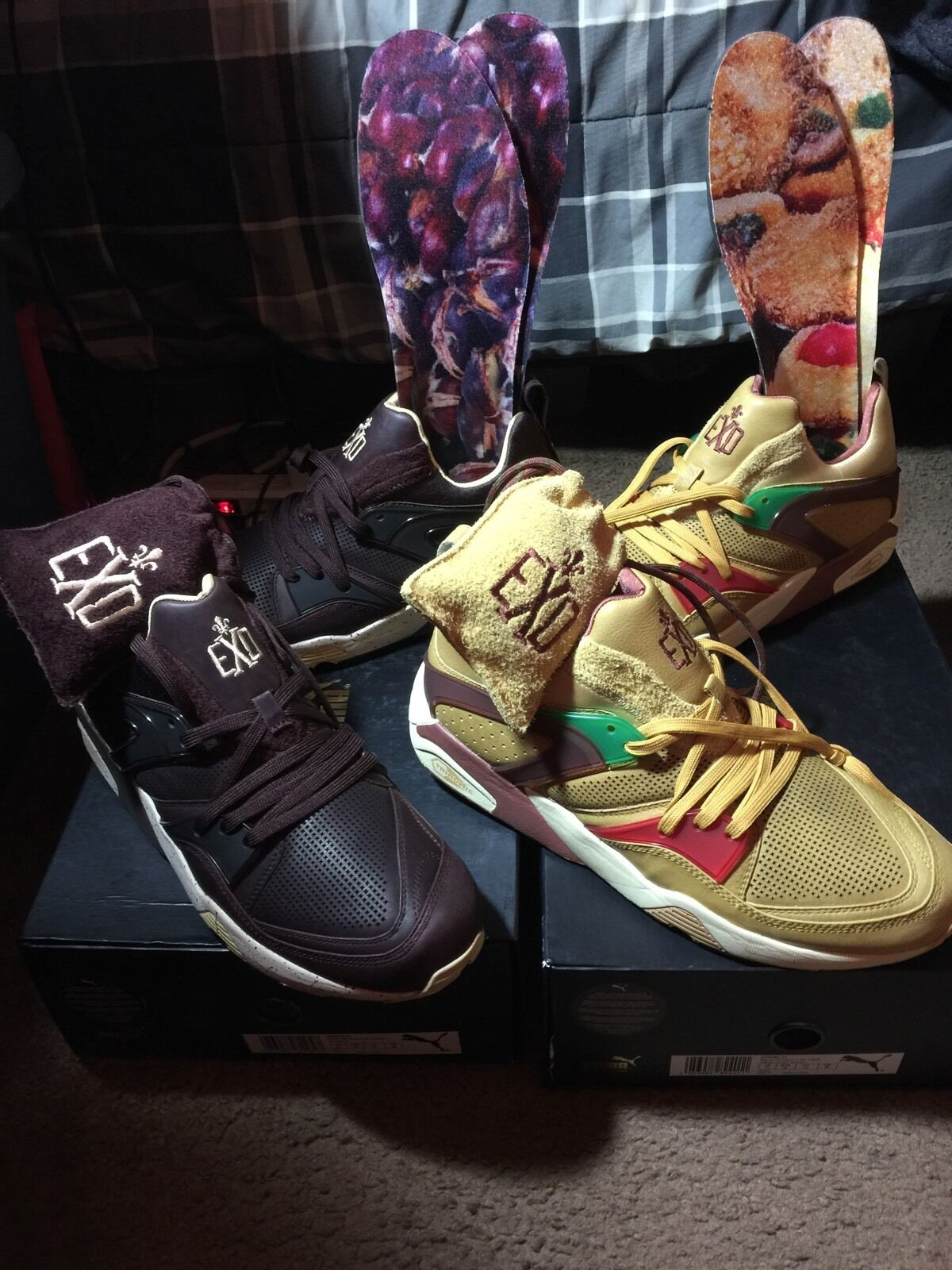 Puma Blaze Of Glory X Limit editions EXD Chestnuts Macaroons Rs-x Bape Toys