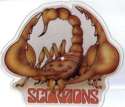 SCORPIONS - RHYTHM OF LOVE Limited Edition Shaped VINYL Picture Pic Disc