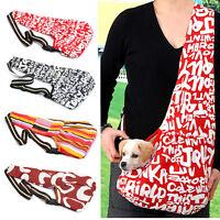 Pet Dog Cat Carrier Shoulder Sling Bag Tote Oxford/mesh Cloth For Hiking Travel