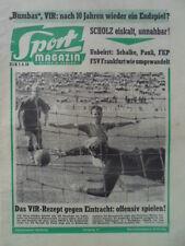 SPORT MAGAZIN KICKER 37 A - 7.9. 1959 Hamburger SV - Real Madrid 2:3 Bubi Scholz