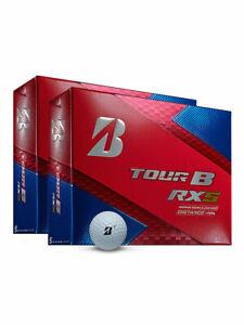 Bridgestone-Tour-B-RXS-Golf-Balls-2-Dozen-White-Mens